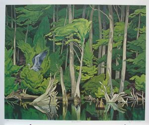 Blue Heron - AJ Casson